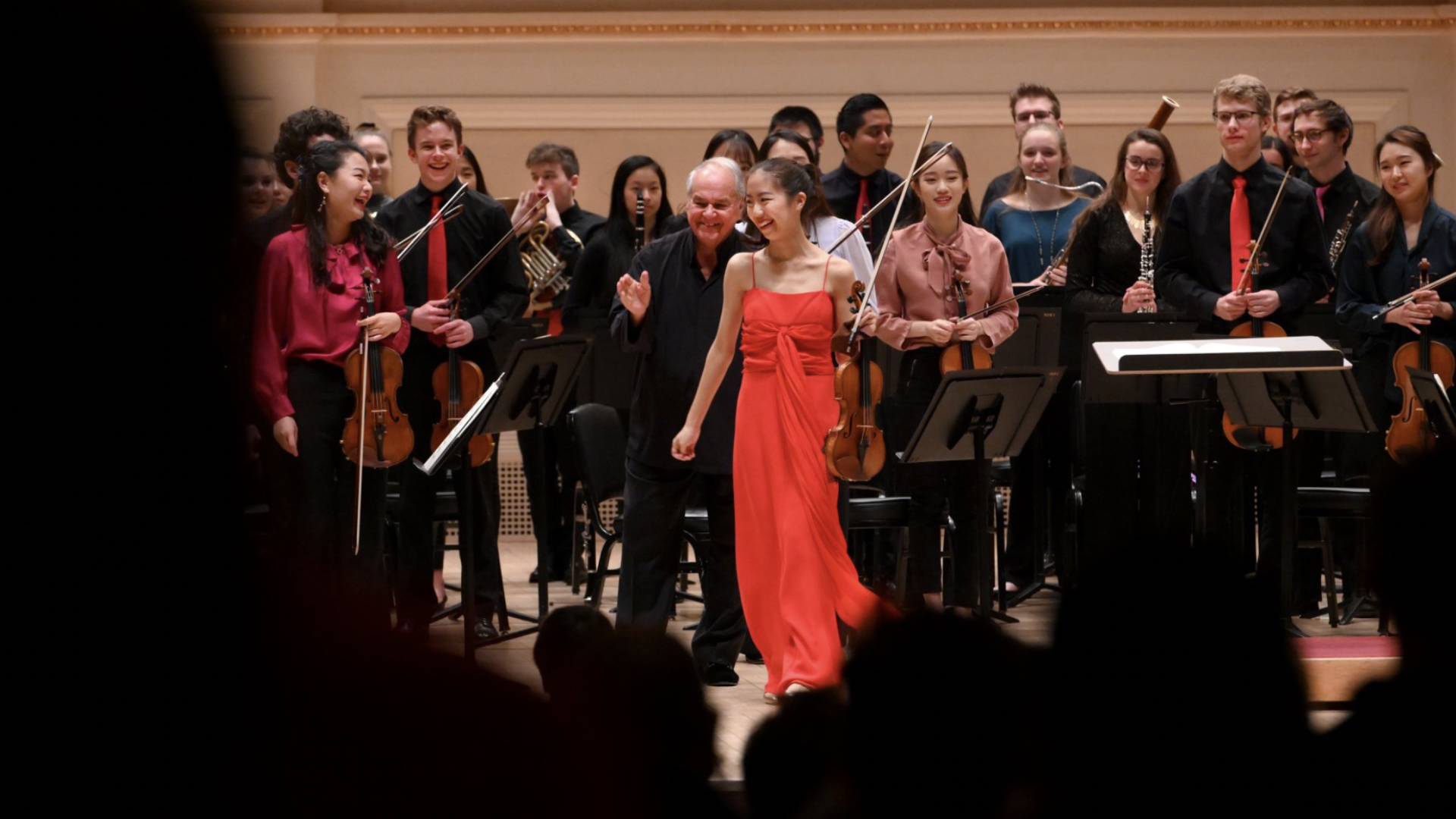 Shannon at NYSOS, Carnegie Hall 2019